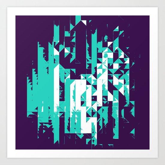 dymynd^crysx Art Print