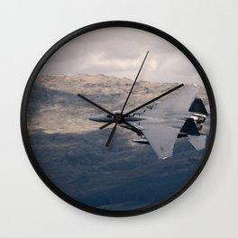 Mach Loop F-15 Wall Clock