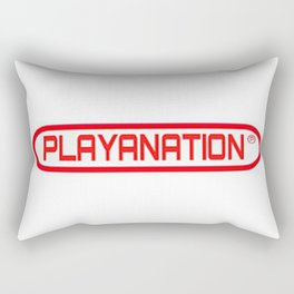 PlayaNationMG RW 2-Tone Rectangular Pillow