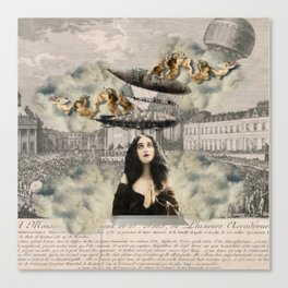 aNGeLs aNd ZePPeLiNs Canvas Print