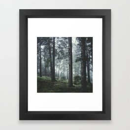 Path Vibes Framed Art Print
