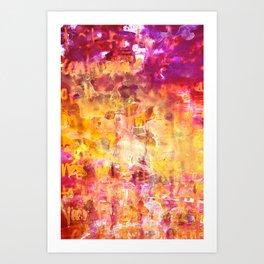 Hot Flash Art Print