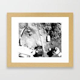 I Am Home Framed Art Print