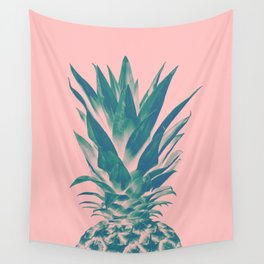 Blush Pineapple Dream #3 #tropical #fruit #decor #art #society6 Wall Tapestry