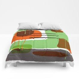 GREEN BLOCKS Comforters