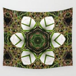 Kaleidoscope of puffball fungus Wall Tapestry