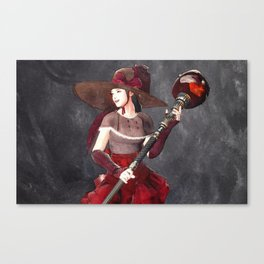 Lovely dress - 可爱的装扮 Canvas Print