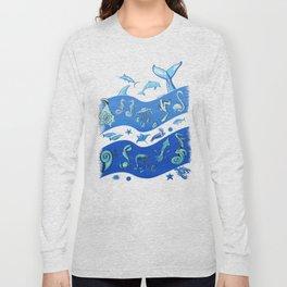 Ocean's Symphony Long Sleeve T-shirt