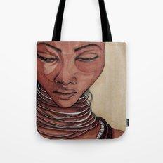 Black Venus Tote Bag