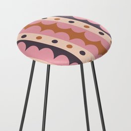 Rick Rack Candy Counter Stool