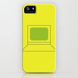 Computer World iPhone Case