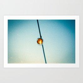 Bistro Light Art Print