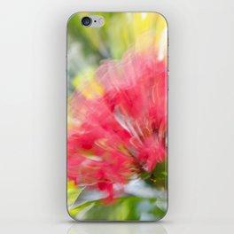 Flower Burst - Electric Magenta iPhone Skin