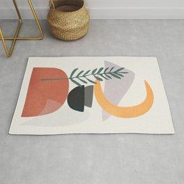 Abstract Shapes No.25 Rug