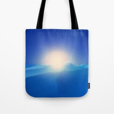Ice Cold Blue Tote Bag