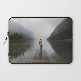 Mountain Lake Vibes - Landscape Photography Laptop Sleeve