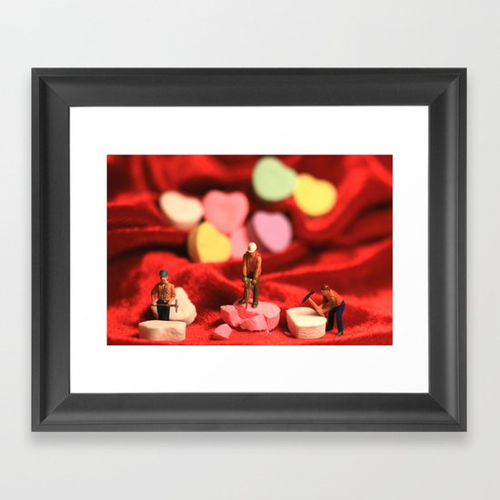 The Heartbreakers Framed Art Print