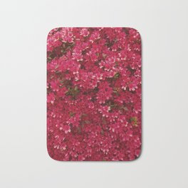 Wall of Flowers Bath Mat