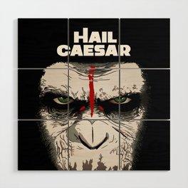 Hail Caesar Wood Wall Art