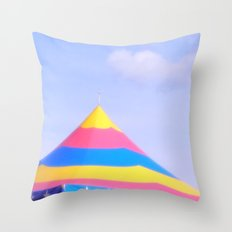 Circus tent Throw Pillow