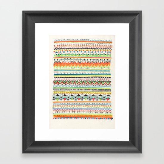 Pattern No.3 Framed Art Print