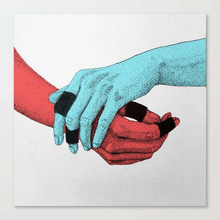 Take my Hand Canvas Print