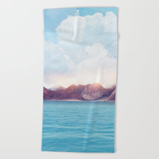 Pastel vibes 61 Beach Towel