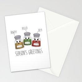 Season's Greetings | Garlic, Oregano & Paprika Stationery Cards