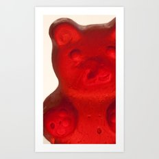 Gummy Bear  Art Print