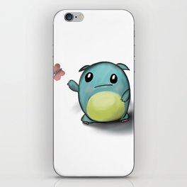 cuteness monster iPhone Skin