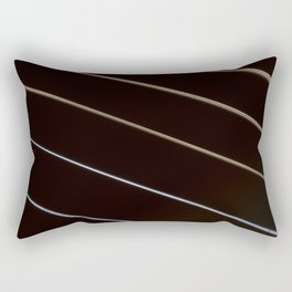 Guitar String Abstract 3 Rectangular Pillow