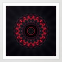skyfall Art Prints featuring Skyfall by Mr. Pattern Man