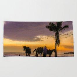 My Mexican Dream Beach Towel