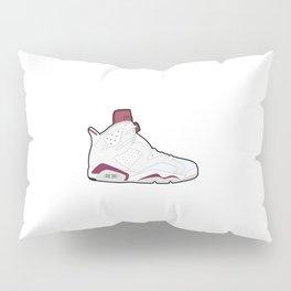Air Jordan 6 Maroon Pillow Sham