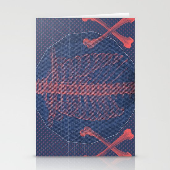 """""""The Bones of What You Believe"""" by Matthew Vidalis Stationery Cards"""