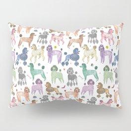 Poodles by Veronique de Jong Pillow Sham