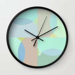 loaves & fishes Wall Clock