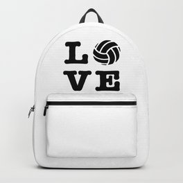 I Love Volleyball Backpack