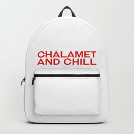 CHALAMET AND CHILL Backpack
