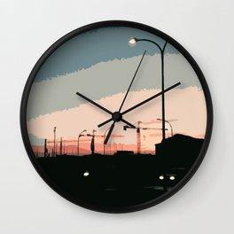 Sky Above Padova Wall Clock