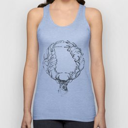 Deer Georgia  Unisex Tank Top