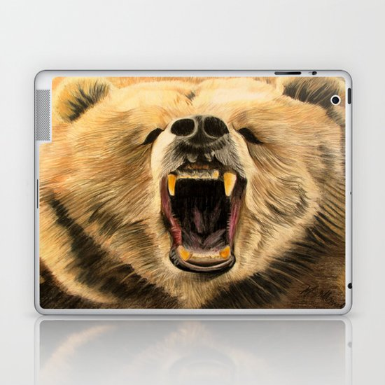 Roaring Bear Laptop & iPad Skin