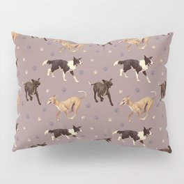 Rescue Dogs Pattern Pillow Sham