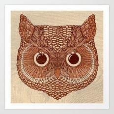 Owlustrations 2 Art Print
