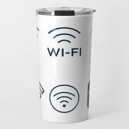 Wifi Signals Travel Mug