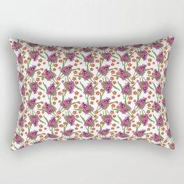 Sultry Summer - Orchids Rectangular Pillow