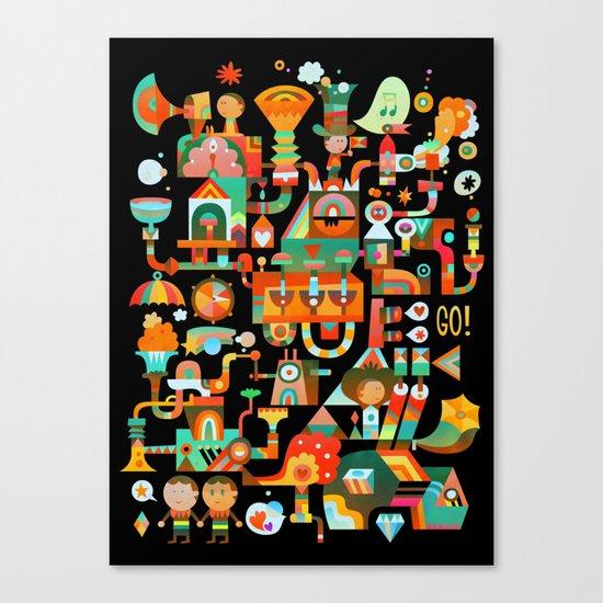 The Chipper Widget (Remix) Canvas Print