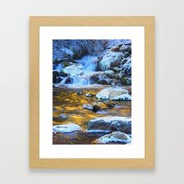 Copper Waters By Luke Nielson Framed Art Print