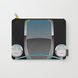 1930s Style Street Rod Car Grill Carry-All Pouch