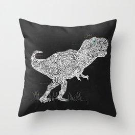 Lace Rex Throw Pillow